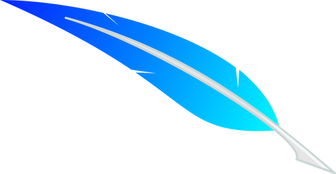 Vector: Skyblue Feather