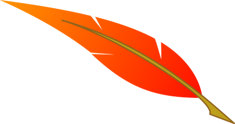 Vector: Philomena feather