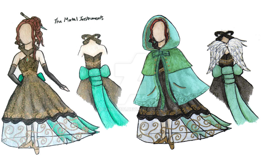 The Mortal Instruments Geek Couture by spunkyK101