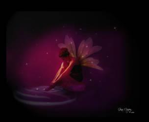 Bathing by Fairylight by itsurdestiny
