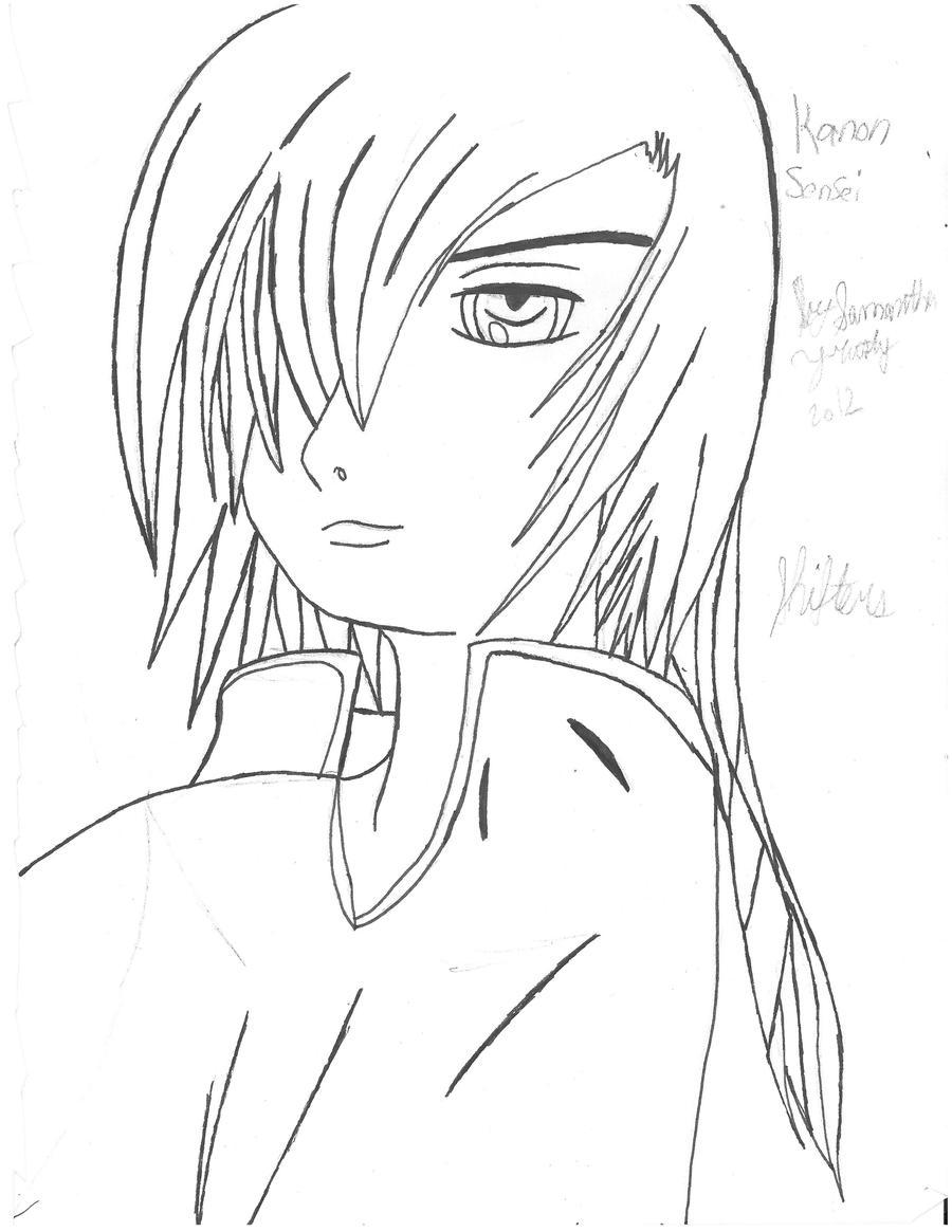 Kanon Sensei Drawing by SamuXchan