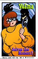 Velma Comic Cover in COLOR by MJBivouac