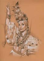Carmen Miranda by MJBivouac