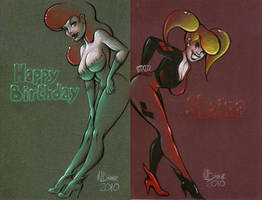 Harley-Ivy Happy B-day by MJBivouac