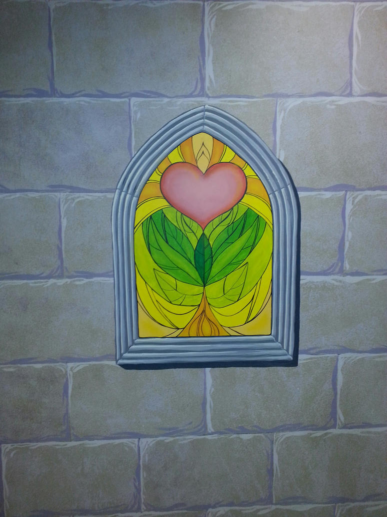 Stained Glass Window Mural Work By Mjbivouac On Deviantart