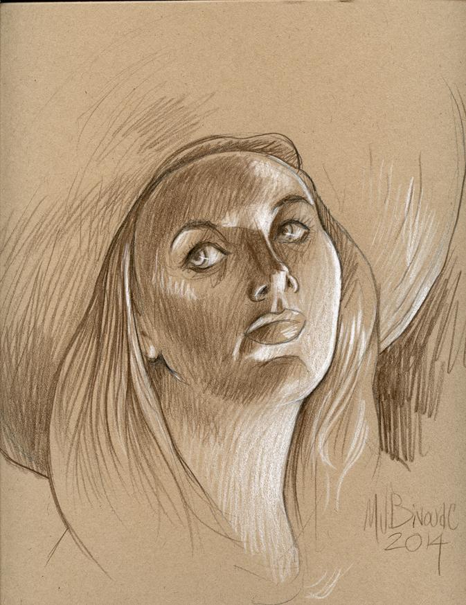 Girl in hat #3 by MJBivouac
