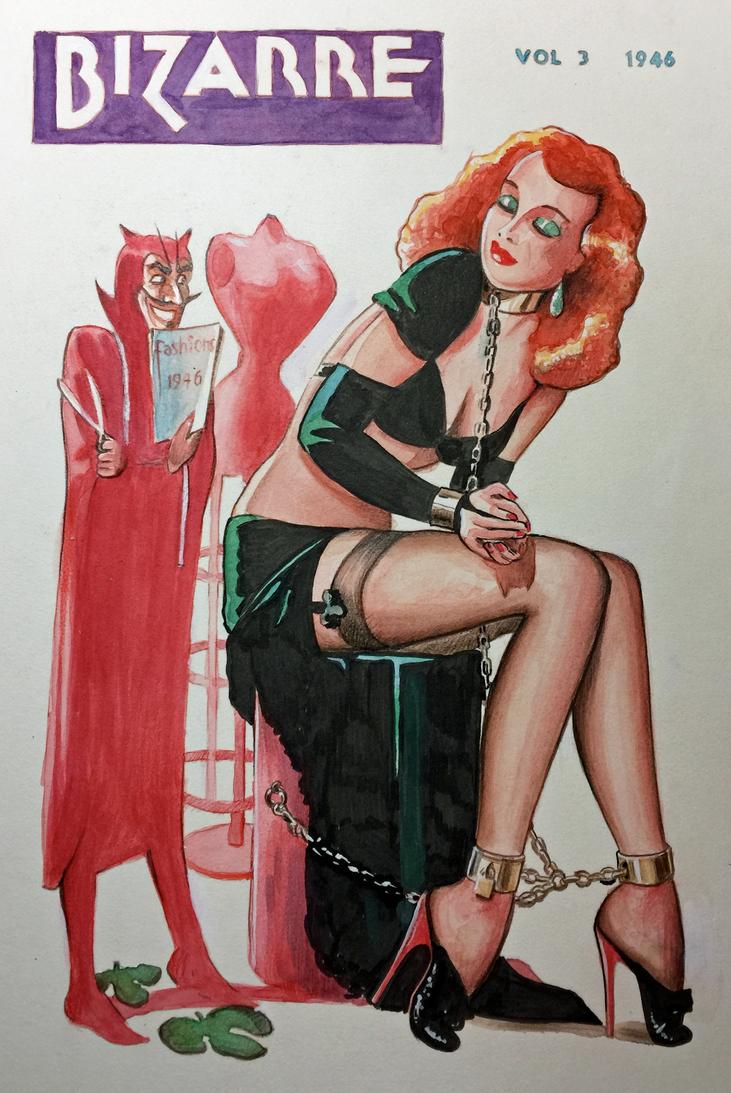 Bizarre Magazine cover  #3 by MJBivouac