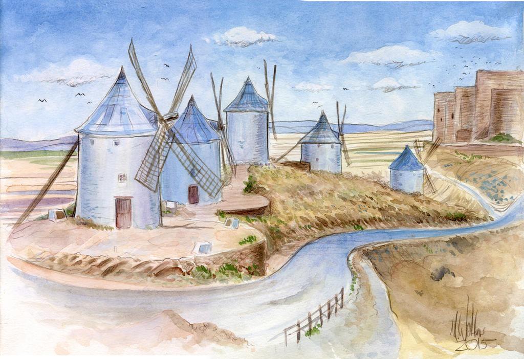 Windmills by MJBivouac