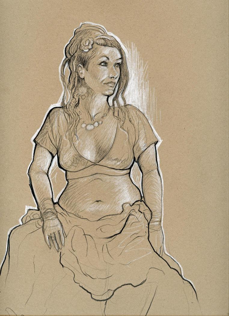 Belly Dancer by MJBivouac