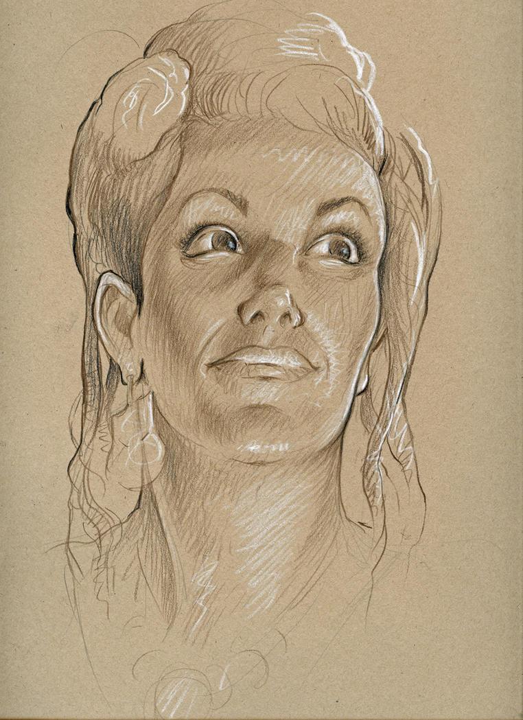 Belly Dancer portrait by MJBivouac