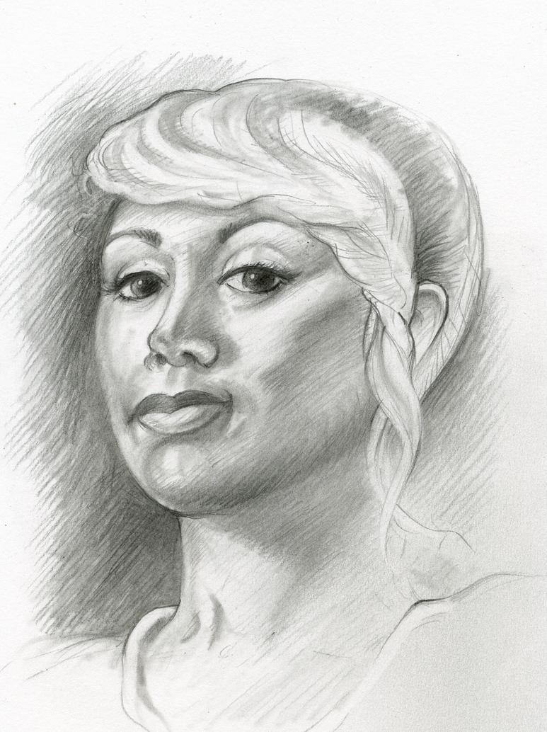 Vanessa Portrait by MJBivouac