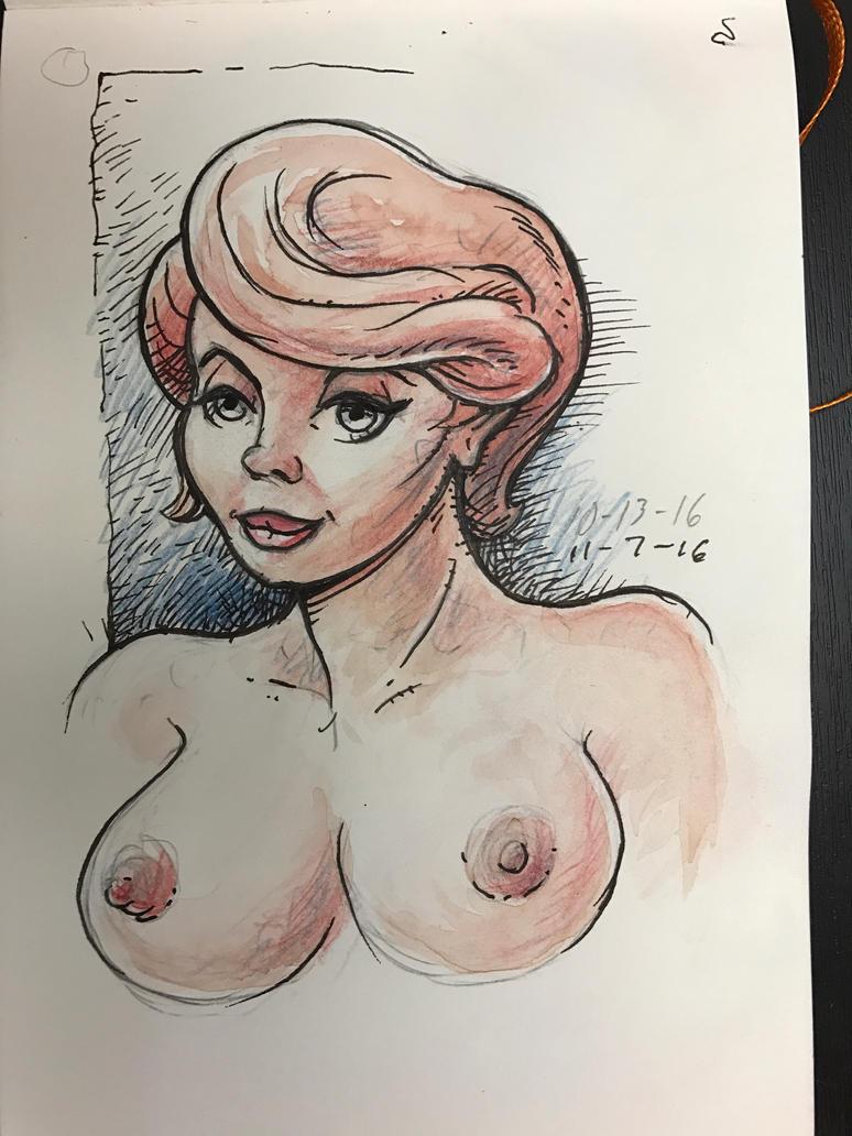 Sketchbook nude by MJBivouac