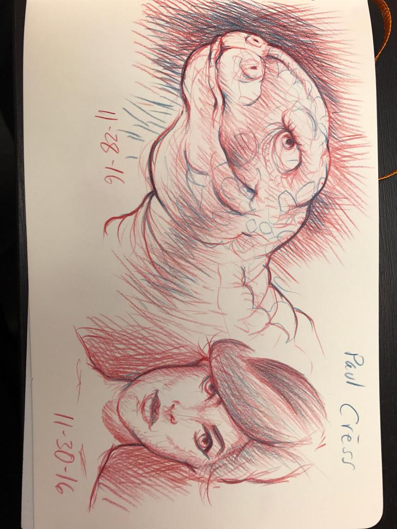 Sketchbook doodles by MJBivouac