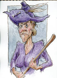 Is she a witch? Is she a hillbilly?