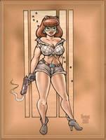 Gun Toteing Girl by MJBivouac