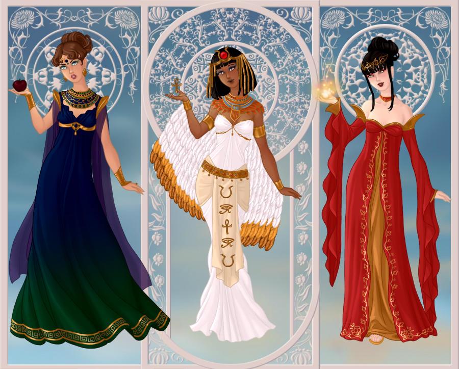 Triple Goddesses
