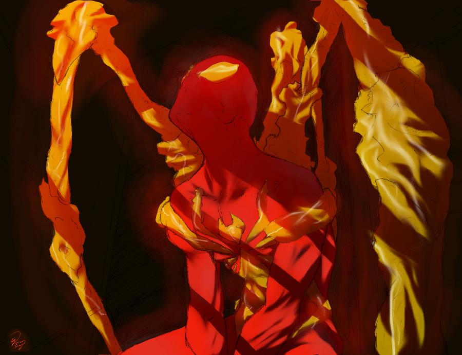 Iron SpiderMan REMIX by thunderking