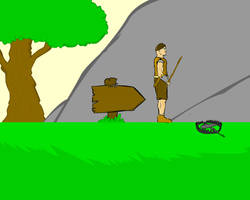 Platform Game Scene by FreelanceFlashGames