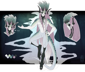 Custom - Pale Woe by YokaMycelium