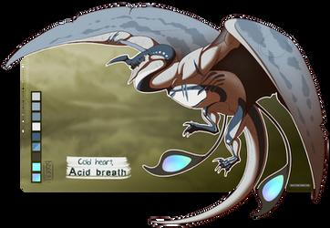 Cold heart, acid breath - Varveleil custom by YokaMycelium