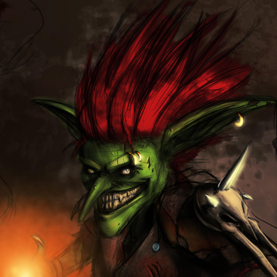 Goblin concept by CTalmage