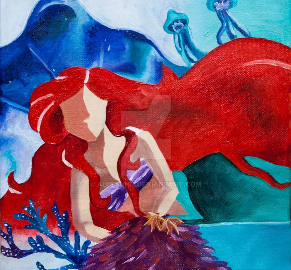 Ariel No Face by Aleesuhn