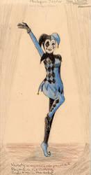 3 Clowns: Harlequin Jester by AutumnOwl