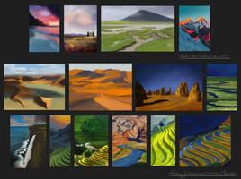 10-day challenge: Landscapes