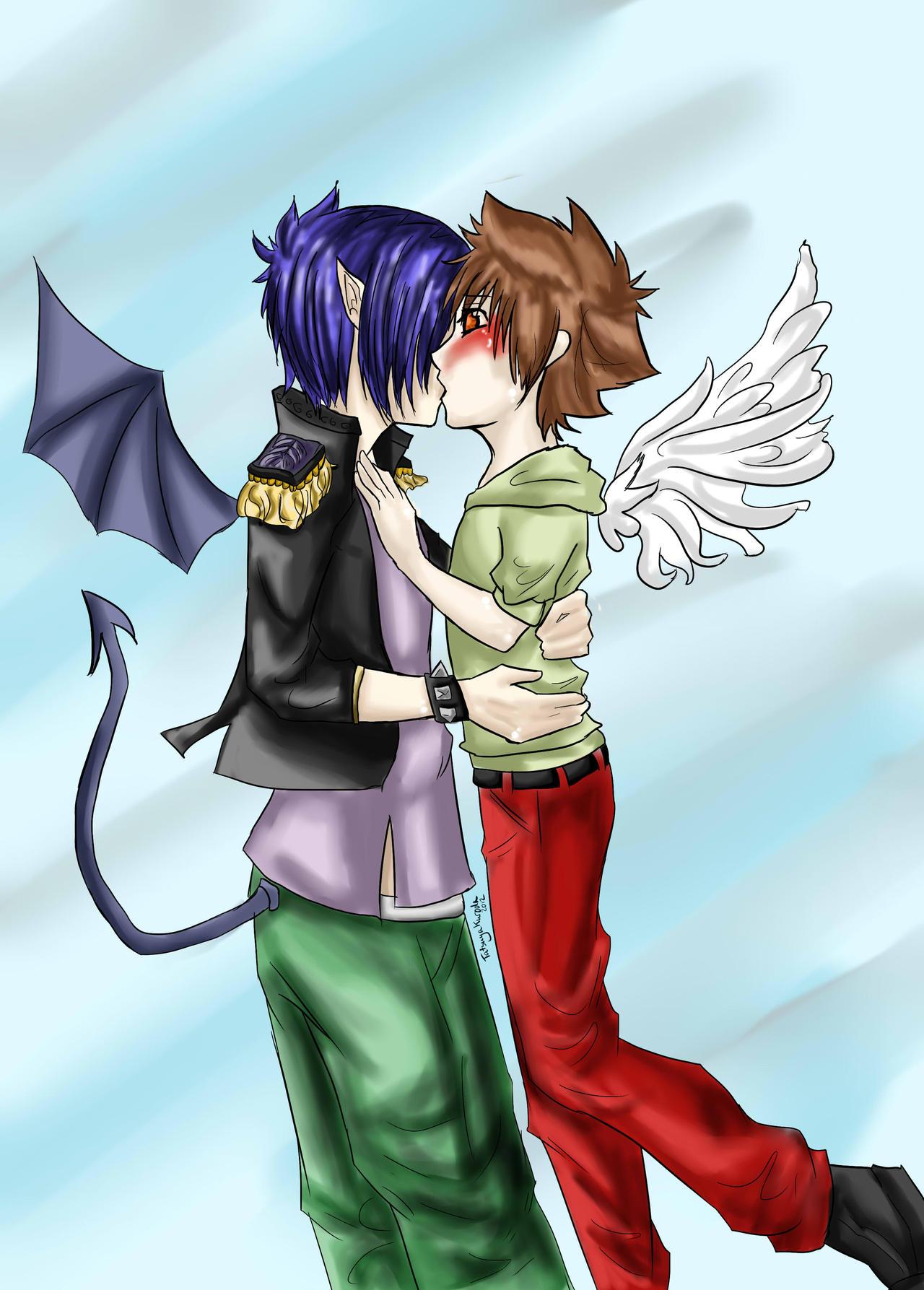 An Angel's Kiss By TatsuyaKuroda On DeviantArt