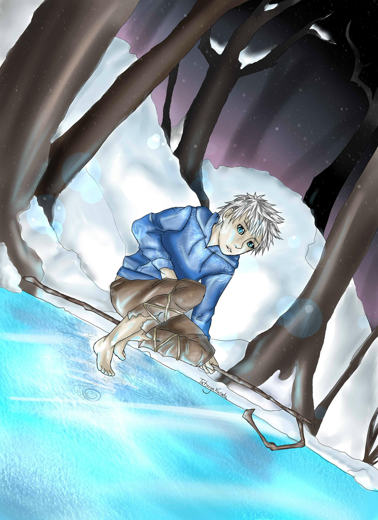 RotG - Walking on Ice by TatsuyaKuroda