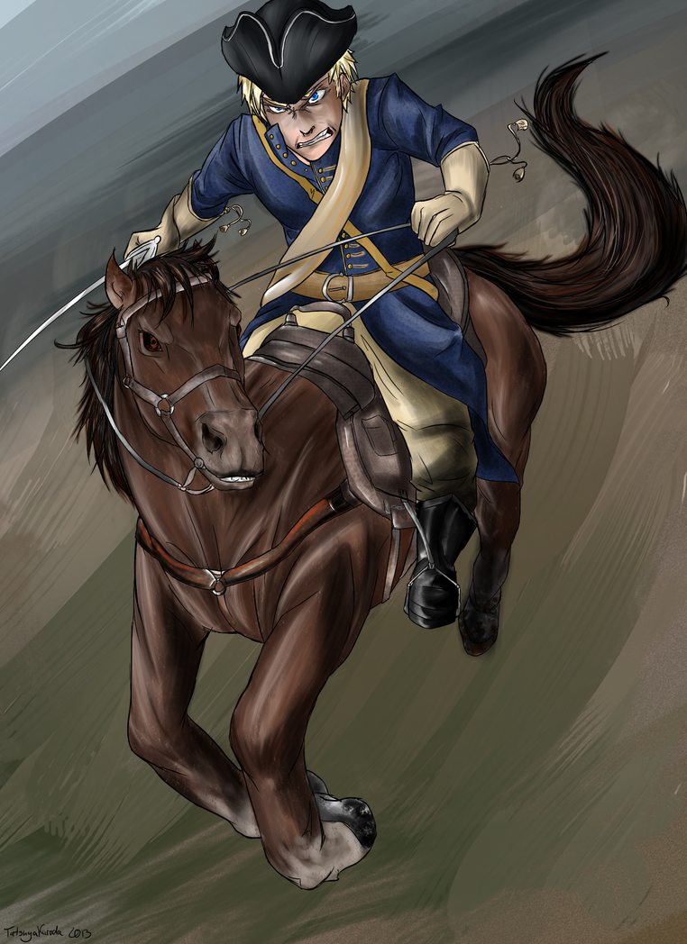 APH - Lion from the North by TatsuyaKuroda