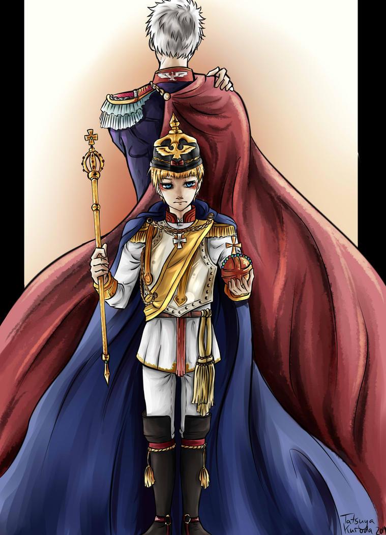 APH - The Child Emperor by TatsuyaKuroda