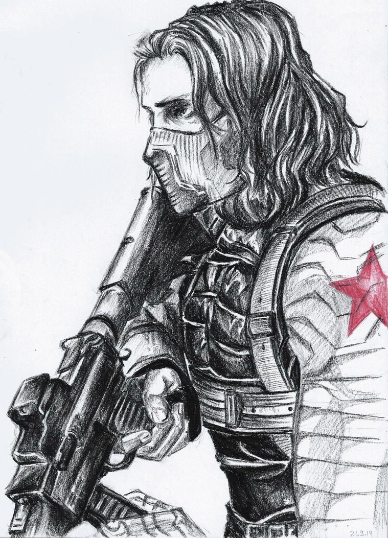 The Winter Soldier by TatsuyaKuroda