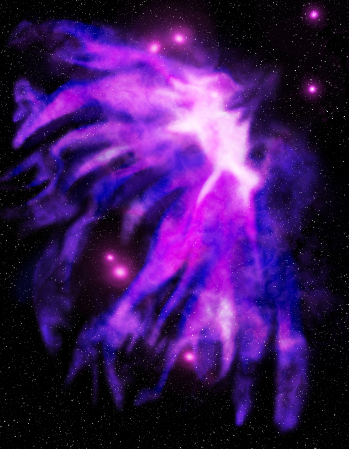 Jellyfish Nebula by Kalwadi