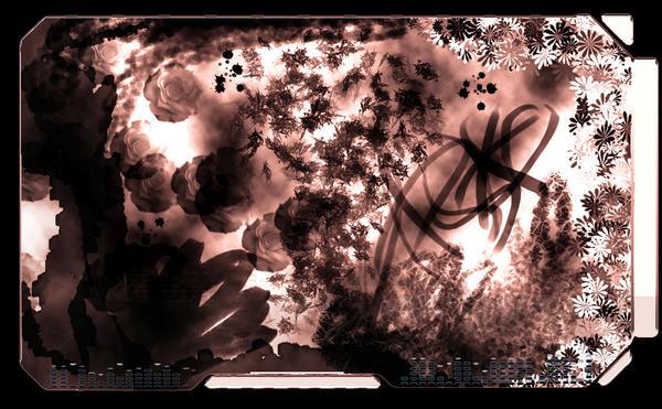Rose-y desktop by Kalwadi