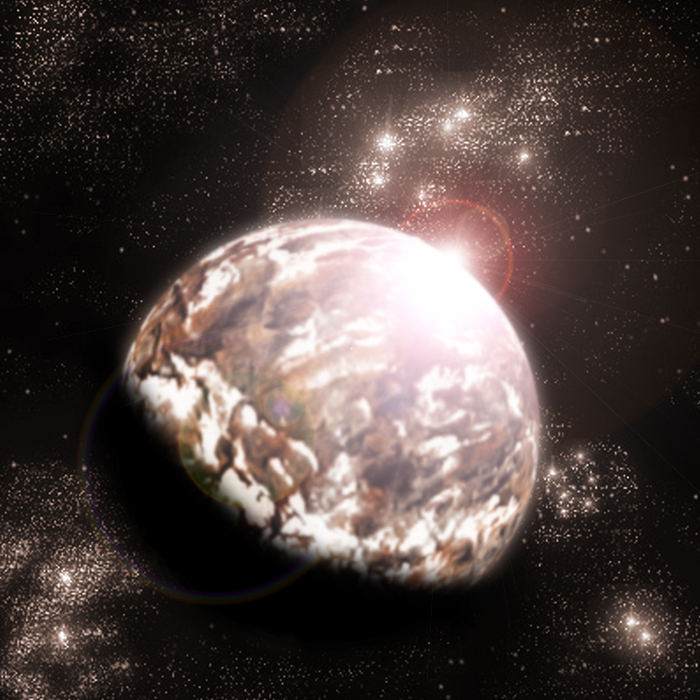 Marble Planet by Kalwadi