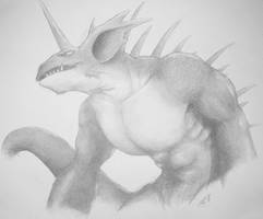 Nidoking by aetherwulf