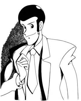 Inktober2020 Lupin The 3rd