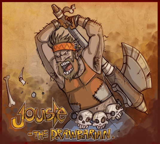 jouste the drawbarian by jouste