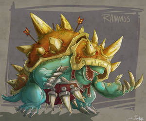rolling with rammus