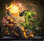 Phelgrum and Cauldronis