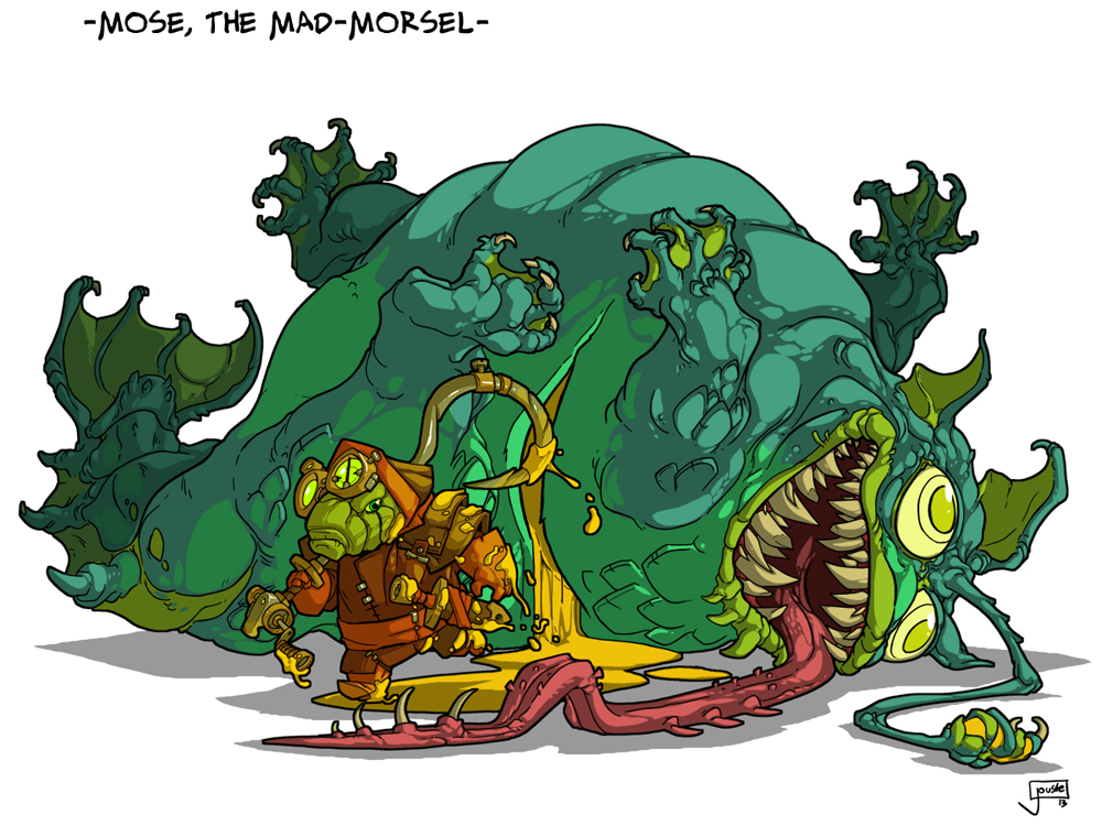 Mose, The Mad Morsel! by jouste