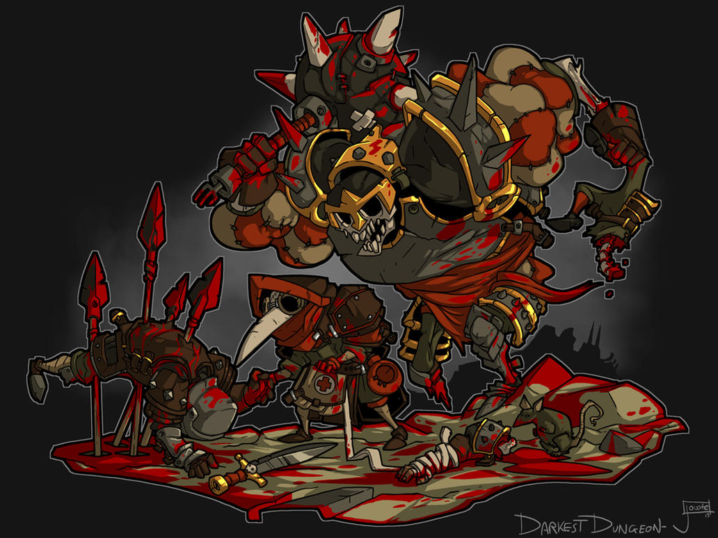 Darkest Dungeon Fan art: Plague Doctor Delusions by jouste
