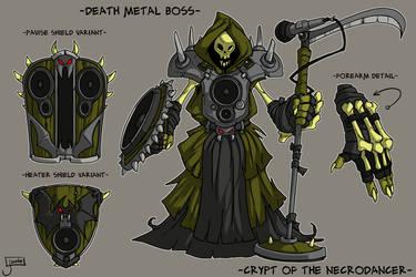 COTND: Death Metal Boss concept by jouste