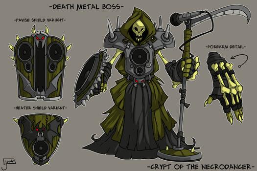 COTND: Death Metal Boss concept