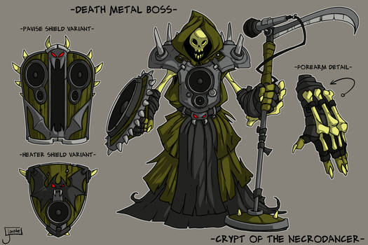 COTND: Death Metal Boss concept