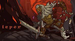 Darkest Dungeon Fan Art: The Leper