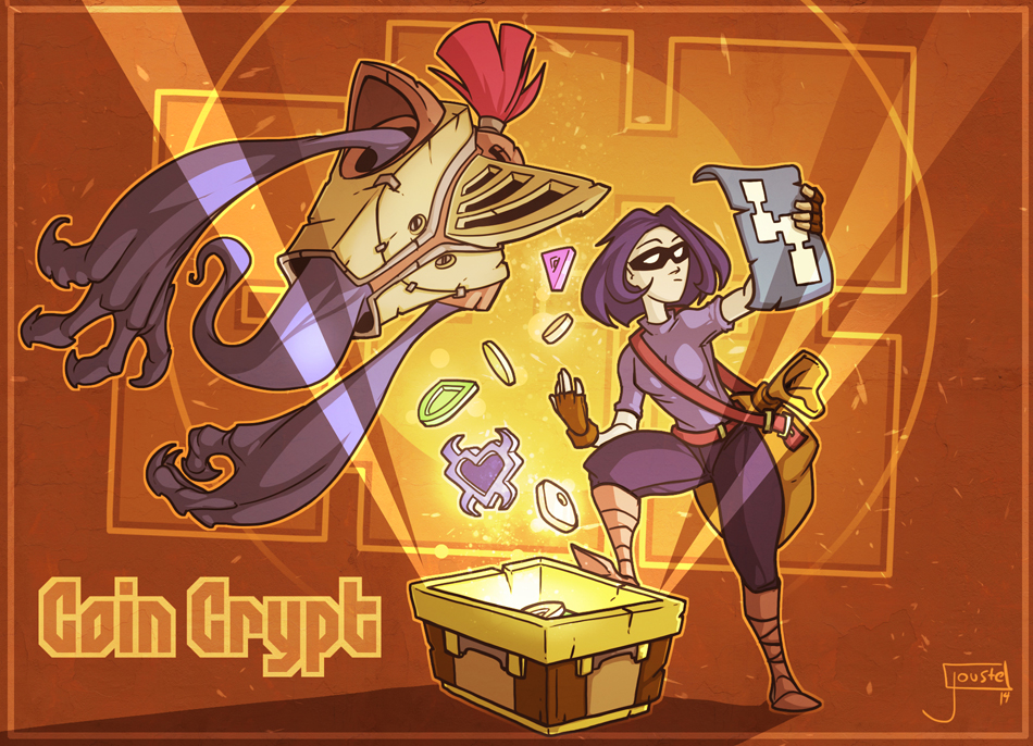 Greg Lobanov's Coin Crypt by jouste