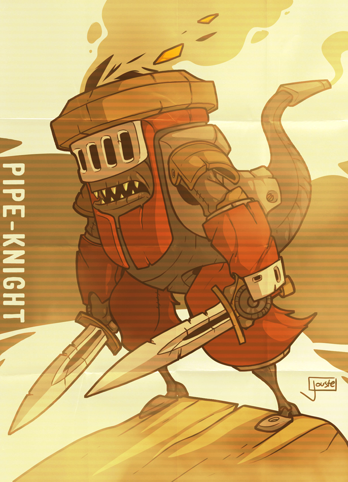 The Pipe-Knight by jouste