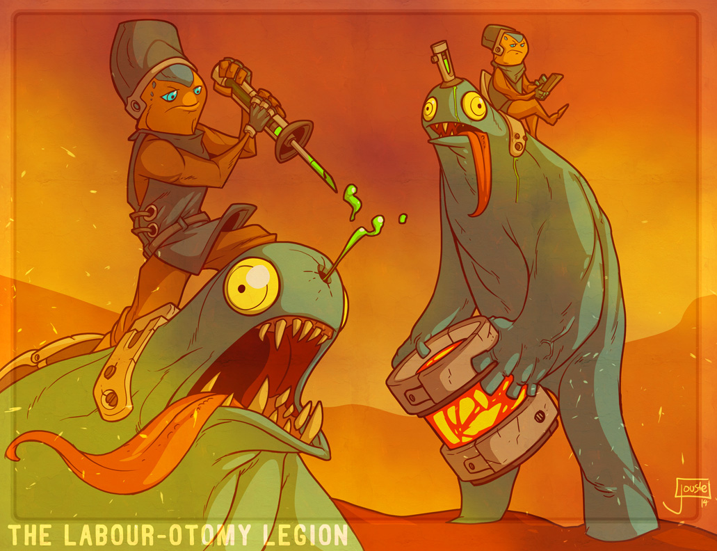 The Labour-otomy Legion by jouste